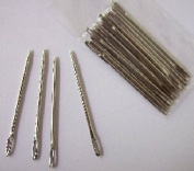 A pair of Easy to Thread Large Opening Hand Sewing Needles- 6cm/2.9""