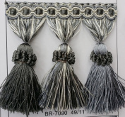 """Beaded Tassel Fringe Trim 8.9cm Style# Bf 1478 *NEW 5120cm Elegance Collection"""", 12 Colours available ! Sold By the Yard"""