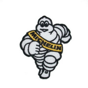 MICHELIN Man Tyres Sponsor Car Motorcycles Racing Biker Motogp Motorcorss Logo Jacket Patch Sew Iron on Embroidered Symbol Badge Cloth Sign bY PRINYA SHOP