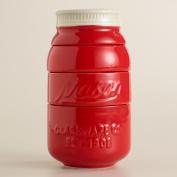 Red Mason Jar Measuring Cups - World Market