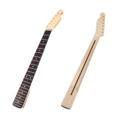22 Frets Maple Guitar Neck with Rosewood Fingerboard For Fender Tele Replacement
