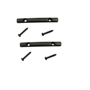 Musiclily Guitar String Tree Guides String Retainer Bar for Floyd Rose Style Replacement Parts, Black
