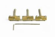 Compensated Telecaster Saddles - Brass