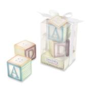 Kate Aspen ' New Baby On The Block Ceramic Baby Blocks Salt & Pepper Shaker Set