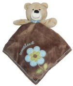 "Carter's Snuggle Buddy Rattle Security Blanket ""Sweetheart"" Teddy Bear"