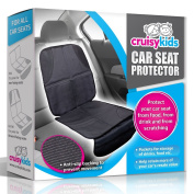 Car Seat Protector by Cruisy Kids - Car Seat Protector Cover Mat For Under Your Baby & Infant Seats. The Best Child Seat Protection Covers For The Front & Back Seats Of Your Vehicle. Perfect Protection For Leather, Fabric, Vinyl, Cloth & All Other Type ..