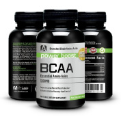 BCAA Optimum Nutrition By At Last the Best 1200mg. Highest Quality, Outstanding Value -Guaranteed- Quick Recovery, Ultimate Energy, Stamina, Training, Fat Burning, Modern Supplement, Increases Metabolism At All Ages - Branched Chain Amino Acid Capsules ..
