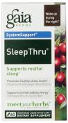 Gaia Herbs Sleep Thru Liquid Phyto-Capsules, 60 Count