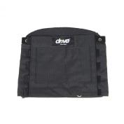 Drive Medical 14300 Adjustable Tension Back Cushions, Black