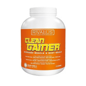 Rivalus - Clean Gainer Increases Muscle & Body Weight Creamy Vanilla - 2.3kg.