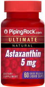 Astaxanthin 5 mg 60 Liquid Capsules