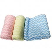 Nylon Exfoliating Beauty Skin Bath Wash Cloth/Towel -3pcs set