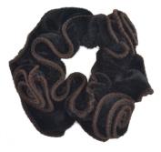 2 Pcs Fashion Soft Elastic Ponytail Holder Large Hair Tie Band