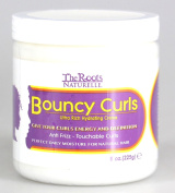 The Roots Naturelle Curly Hair Products Bouncy Curls Anti-frizz Natural Hair Moisturiser   Creates Soft Touchable Curls   Suitable for All Curly Hair Types and African American Hair   Ultra Hydrating Cream - Contains Olive and Grape Seed Oils, and Prot ..