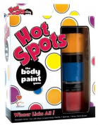 Topco Sales Hot Spot the Body Paint Game Ts3446-7