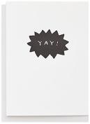 Tattly Temporary Tattoos Card, Yay Burst, 20ml