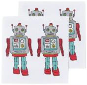Tattly Temporary Tattoos, Robot, 5ml