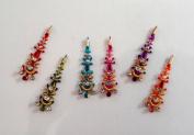Stick On Ornament Bridal Bindi Forehead Stickers Body Art Tattoo Jewellery Bellydance - #17