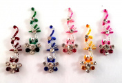 Stick On Ornament Bridal Bindi Forehead Stickers Body Art Tattoo Jewellery Bellydance - #06