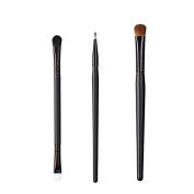 ON & OFF East Meets West Collection Duo Fluff/Conceal, Firm Liner and Large Oval Shader Brush Set