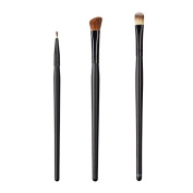 ON & OFF East Meets West Collection Firm Liner, Large Angle Shader and Large Concealer Brush Set