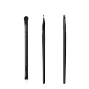 ON & OFF East Meets West Collection Duo Fluff/Conceal, Firm Liner and Small Detailer Brush Set