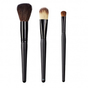ON & OFF East Meets West Collection Domed Powder, Colour Lay Down and Large Oval Shader Brush Set
