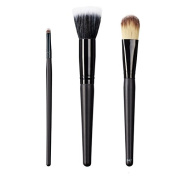 ON & OFF East Meets West Collection Small Detailer, Stipple and Colour Lay Down Brush Set