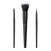 ON & OFF East Meets West Collection Small Detailer, Stipple and Firm Liner Brush Set