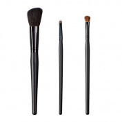 ON & OFF East Meets West Collection Slanted Cheek, Small Detailer and Shadow Fluff Brush Set