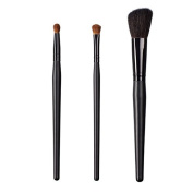 ON & OFF East Meets West Collection Round Precission, Shadow Fluff and Slanted Cheek Brush Set