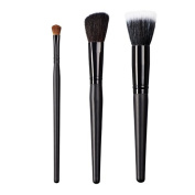 ON & OFF East Meets West Collection Shadow Fluff, Slanted Cheek and Stipple Brush Set