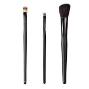 ON & OFF East Meets West Collection Large Concealer, Medium Detailer and Slanted Cheek Brush Set
