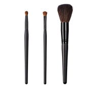 ON & OFF East Meets West Collection Round Precission, Shadow Fluff and Domed Powder Brush Set