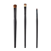 ON & OFF East Meets West Collection Large Oval Shader, Large Concealer and Small Detailer Brush Set