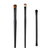 ON & OFF East Meets West Collection Large Oval Shader, Large Concealer and Duo Fluff/Conceal Brush Set