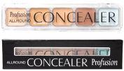 New 5 Colour Professional Makeup Camouflage Concealer Palette GREEN Corrector