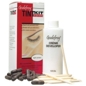 Eyebrow Tint Kit Professional 20 Applications Light Brown