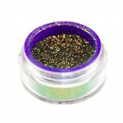3g Jar Blackened Gold Glimmer Dupe Shimmer Loose Pigment Eyeshadow Dust Use Wet or Dry Custom Golden Black Glitter