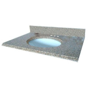 Pegasus 13649 60cm by 60cm Solid Granite Vanity Top, Montesol