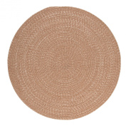 Tremont Round Area Rug, 1.2m by 1.2m, Evergold
