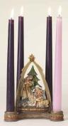 Josephs Studio Josephs Studio 16cm tall Nativity Advent Candle Holder