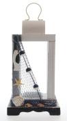 JustNile Nautical Candle Holder Table Top Lantern - Fishnet