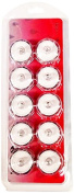 BlueDot Trading Submersible Tea Lights, Red, 10-Pack