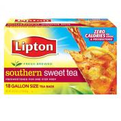 Lipton Southern Sweet Tea, One Gallon Size Tea Bags