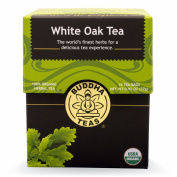White Oak Bark Tea - Organic Herbs - 18 Bleach Free Tea Bags