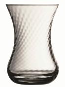Turkish Tea Glass Set Large Size (Whirling Design) - Optikli