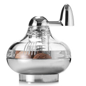 Cade Nutmeg Grinder Rotary Manual Spice Mill Grinding Bottle/acrylic and Stainless Steel Spice Grinder