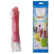 Zipzicle Ice Pop Pouch (Pack of 18), Clear