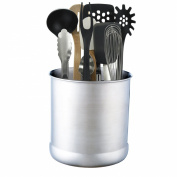 VonShef - Stainless Steel Large Capacity 18cm Utensil Holder Pot Jar Kitchen Tidy
